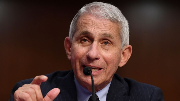 Dr Anthony Fauci, director of the US National Institute for Allergy and Infectious Diseases, warned the situation could get 'very bad'