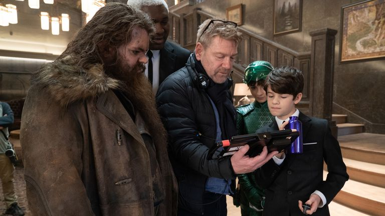 Gad got to work with one of his heroes, Kenneth Branagh