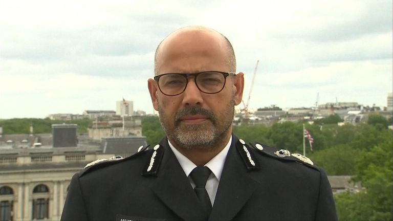Neil Basu, assistant commissioner, Met Police gives a statement on the Reading terror incident