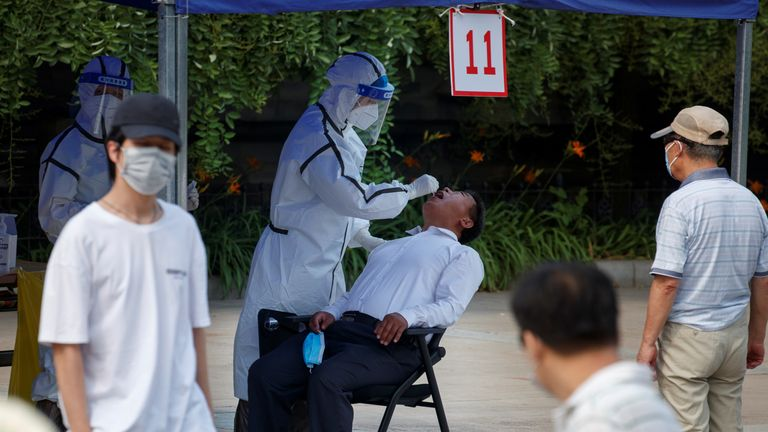 Coronavirus: Beijing to test all food and parcel delivery workers amid new spike in cases