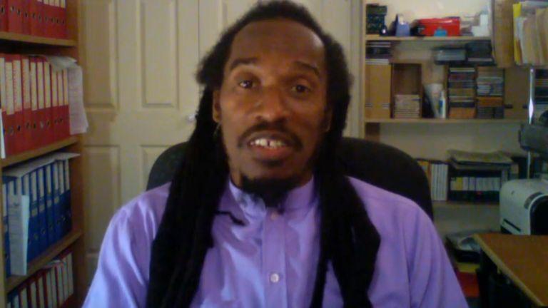 Benjamin Zephaniah still