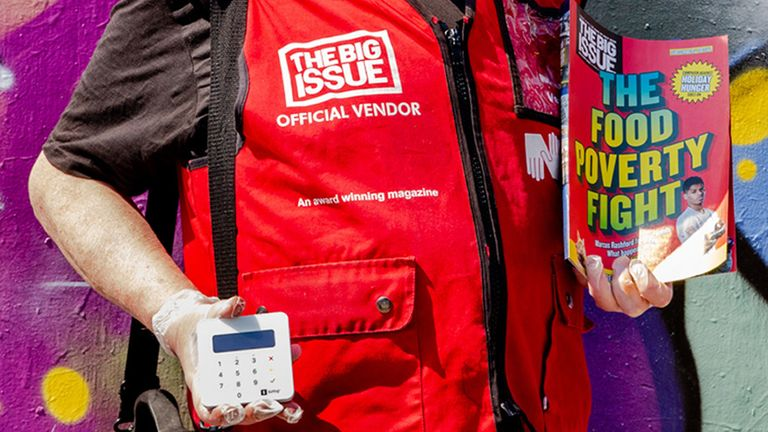 Vendors will be wearing PPE and using contactless card readers when they return to the streets for the first time in lockdown