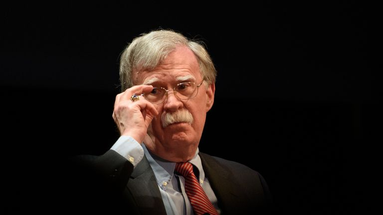 John Bolton's book is called The Room Where It Happened: A White House Memoir