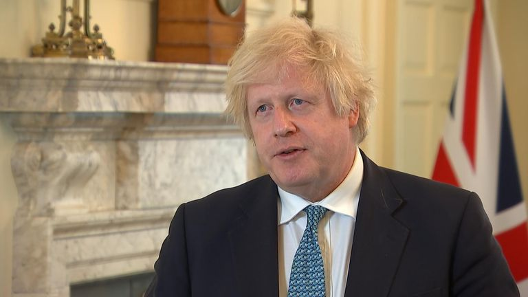 Prime Minister Boris Johnson said he wanted to 'learn very fast what fresh changes we need to make'