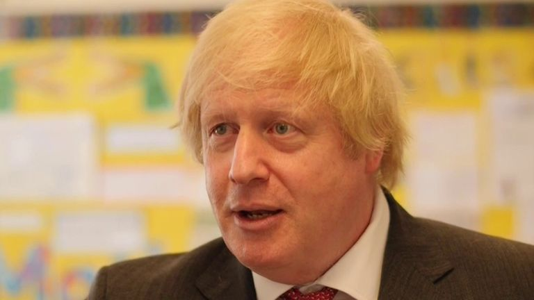 Boris Johnson is optimistic about the future, beyond the pandemic