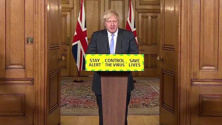 Boris Johnson chairs the final daily coronavirus briefing from Downing Street