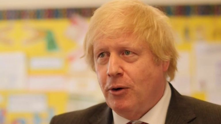 Boris Johnson says less attention should be paid to symbols of discrimination and more action taken on the causes in society