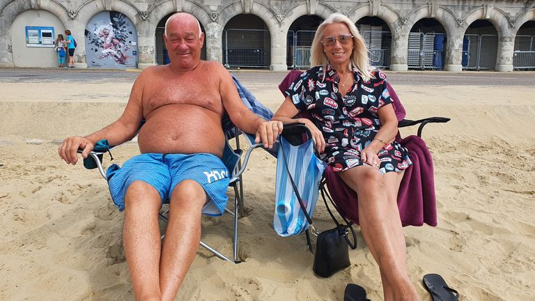 Ross and Lyn, from Romford