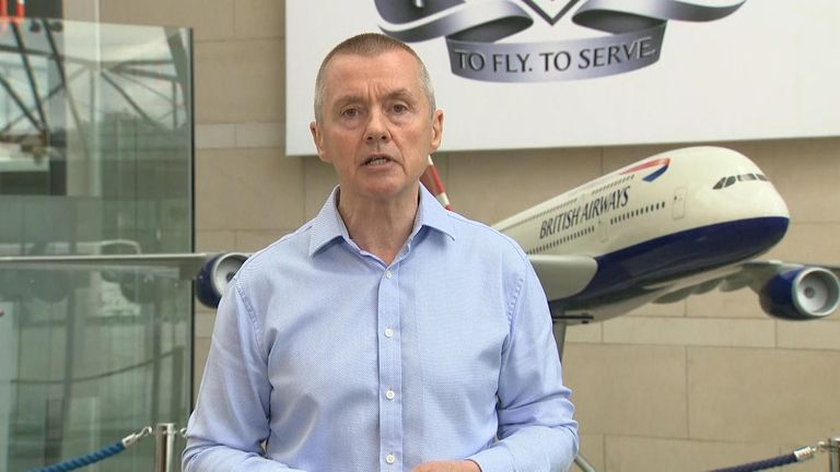 British Airways, Chief Exec Willie Walsh