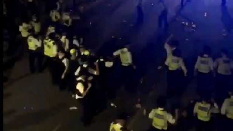 Extra police deployed across London as more illegal raves take place