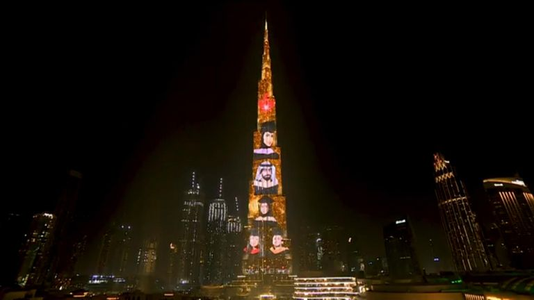 Canadian University Dubai held an eye-catching virtual graduation ceremony, projecting portraits of the 2020 class onto the landmark Burj Khalifa.