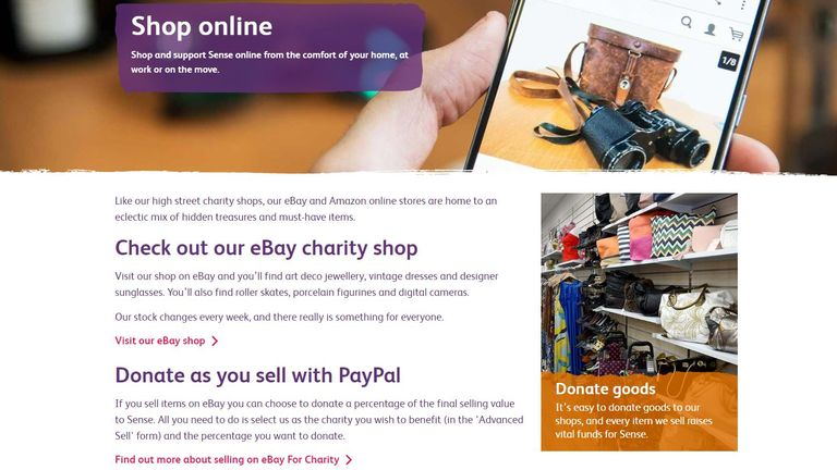 Charities have moved a lot of their services online