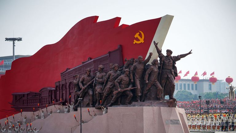 Twitter says Chinese Communist Party ran tens of thousands of fake accounts  | Science & Tech News | Sky News