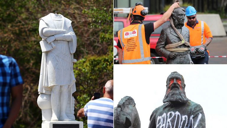 Statues around the world are being targeted by activists who feel they should not be celebrated