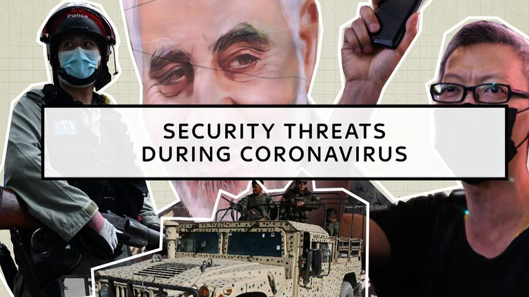 Security threats mount during the coronavirus pandemic