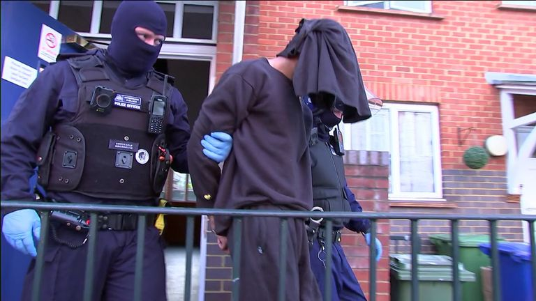 county lines gang raid farrell