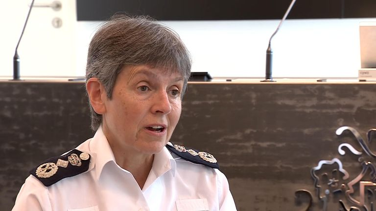 The Met Police commissioner Dame Cressida Dick said officers have been deployed all over London in preparation for the weekend