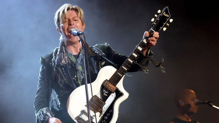 The Isle Of Wight Festival, Britain - 11 - 13 Jun 2004, David Bowie