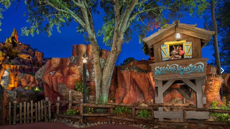 The Splash Mountain ride is at California's Disneyland and Magic Kingdom at Florida's Walt Disney World. Photo: Disney