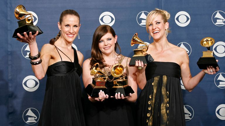 The Chicks after their 2007 Grammys win