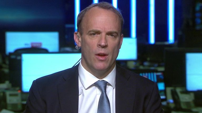 Dominic Raab insists a £900,000 paint job on the prime minister's plane is good value for the taxpayer