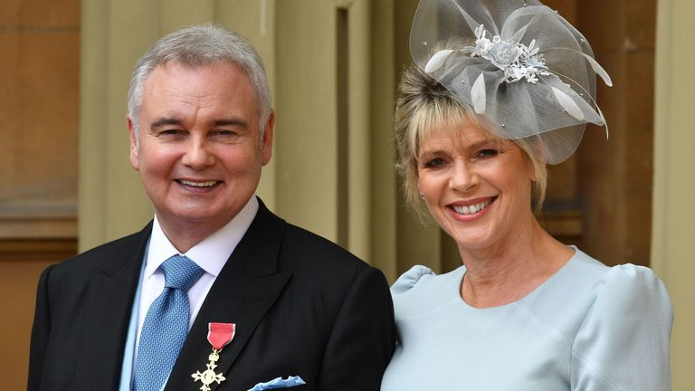 Eamonn said he was 'hurt beyond belief' after seeing the show. File pic