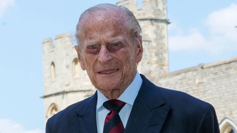 Prince Philip: Rare new photo of Duke of Edinburgh with ...