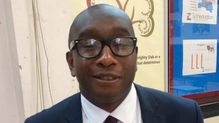 Emmanuel Botwe, Headteacher at Tytherington High School in Macclesfield