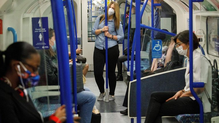 Face coverings are now mandatory on all public transport