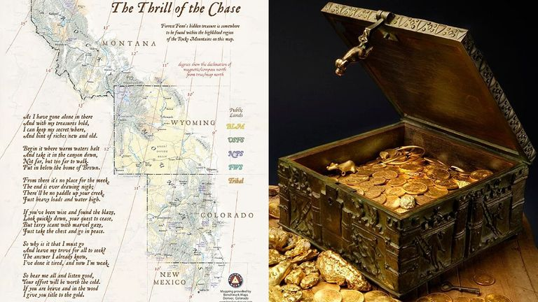 The treasure has been found after 10 years. Pic: Forrest Fenn