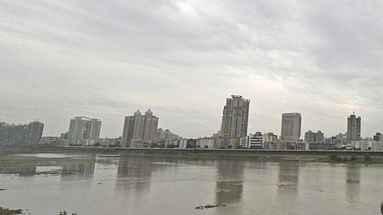 The children fell into the Fu River near Chongqing in southwest China