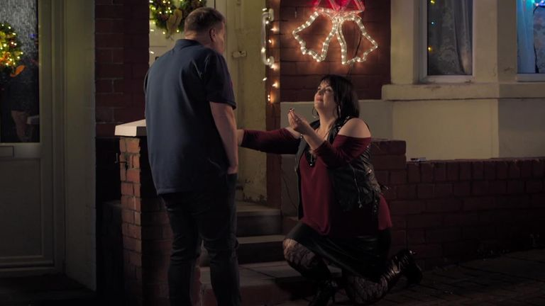 Nessa proposes to Smithy on Gavin and Stacey