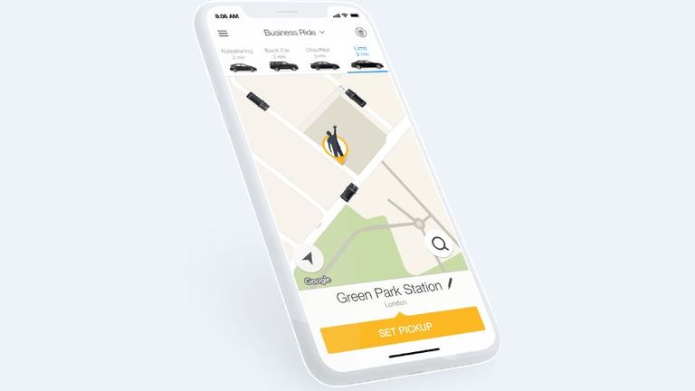 Gett is a corporate transportation firm that connects business customers to ground travel services. Pic: Gett UK