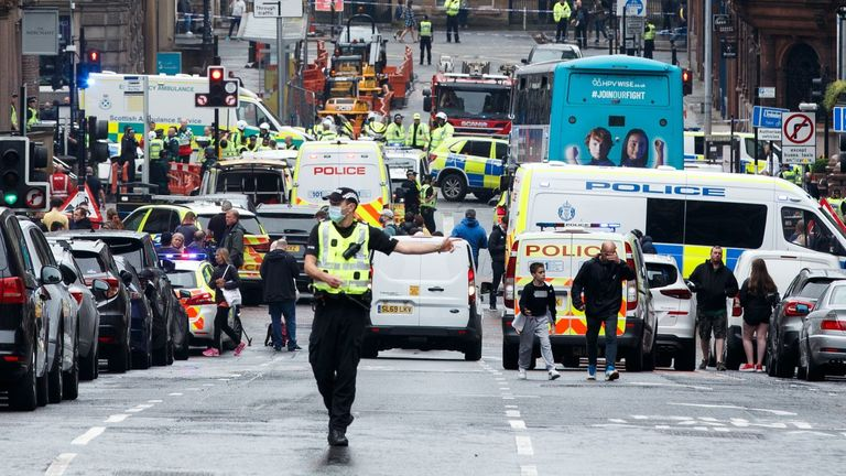 Glasgow stabbings investigation continues