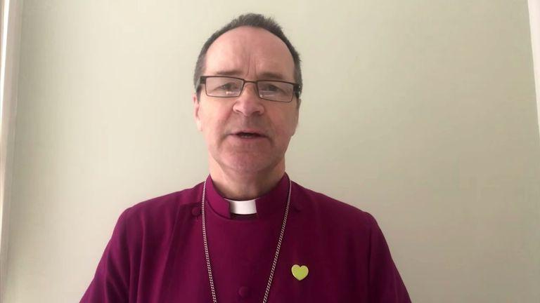 The Bishop of Kensington led the online commemoration service