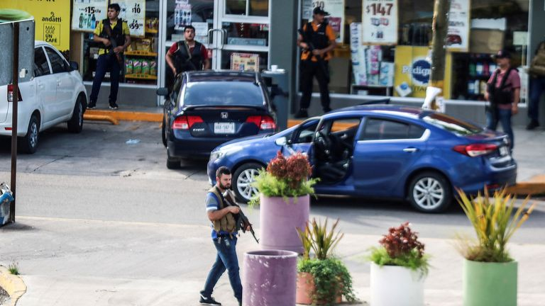 Cartel gunman took over the streets of Culiacan to rescue Ovidio Guzman in October