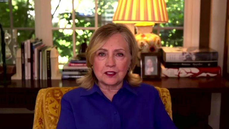 Hillary Clinton quizzed by Kay Burley