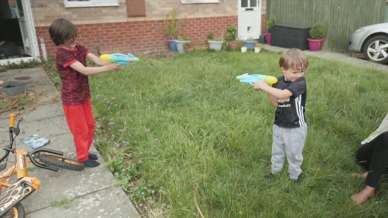 Children being home schooled in Crewe