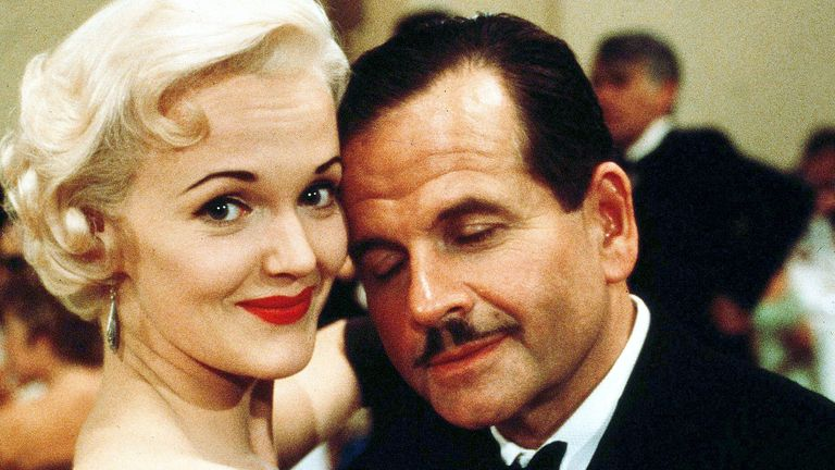 Sir Ian in 1985's Dance With A Stranger with Miranda Richardson. Pic: First Film/Goldcrest/Nffc/Kobal/Shutterstock