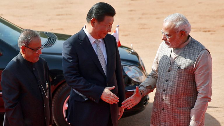 Chinese president Xi Jinping and Indian prime minister Narendra Modi have both said they want the dispute to be sorted peacefully