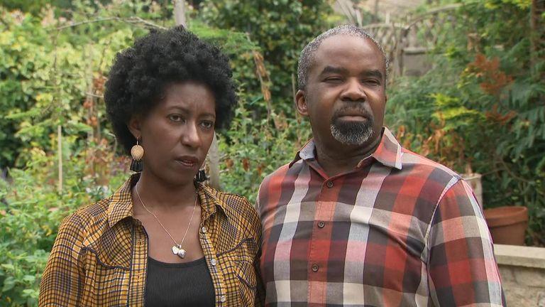 Ingrid Antoine-Onikoyi and Falil Onikoyi