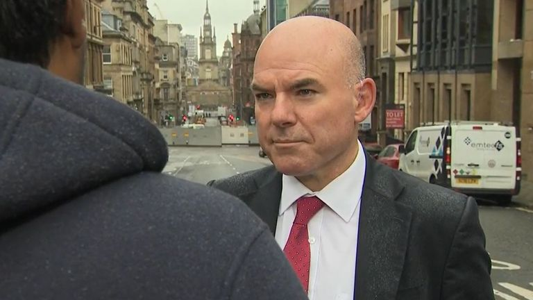 Sky's James Matthews interviews man who knew Glasgow attacker
