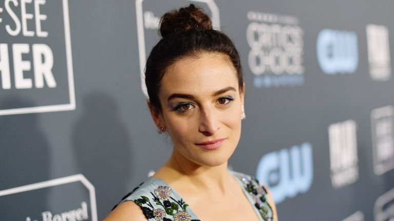 SANTA MONICA, CALIFORNIA - JANUARY 12: Jenny Slate attends the 25th Annual Critics' Choice Awards at Barker Hangar on January 12, 2020 in Santa Monica, California. (Photo by Matt Winkelmeyer/Getty Images for Critics Choice Association)