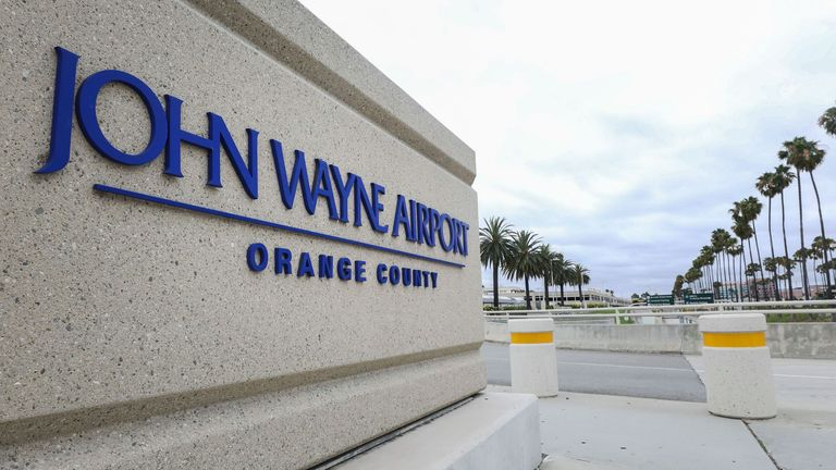 Calls to rename John Wayne airport and remove statue over racist remarks