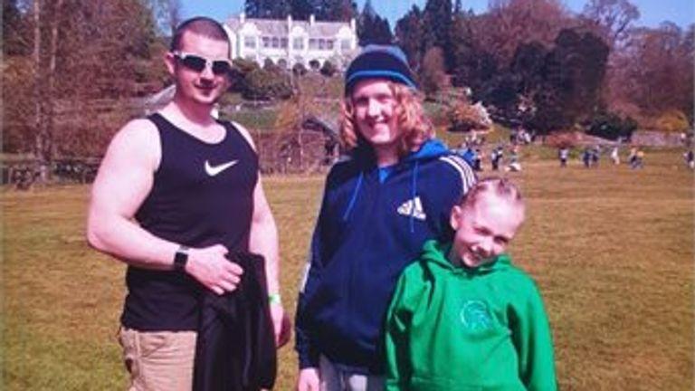 L/R: Joshua James Flynn, Coby-Jay Flynn and Skylar Flynn. Pic: Cumbria Police
