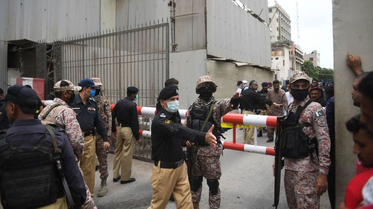 Pakistan police have confirmed the four shooters have been killed after the incident