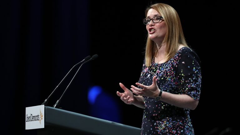 Education minister Kirsty Williams announced the changes