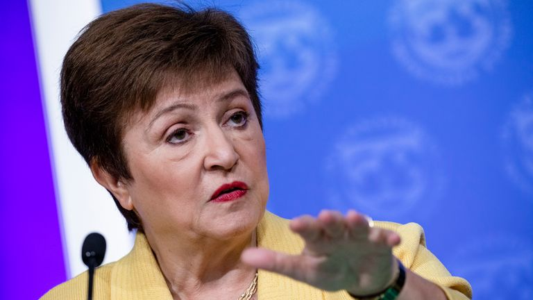 IMF Managing Director Kristalina Georgieva says the Fund has already dispersed $23bn of emergency support