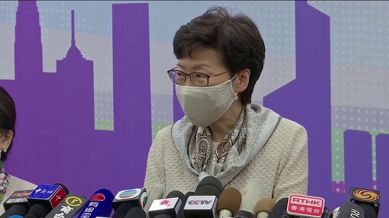 carrie lam citizenship hong kong