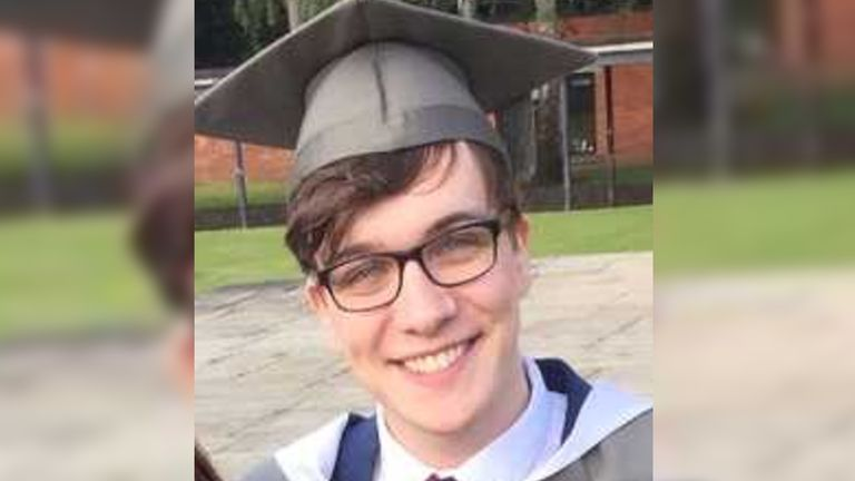 Lewis Howlett was swimming with friends in Leeds when he disappeared on Saturday